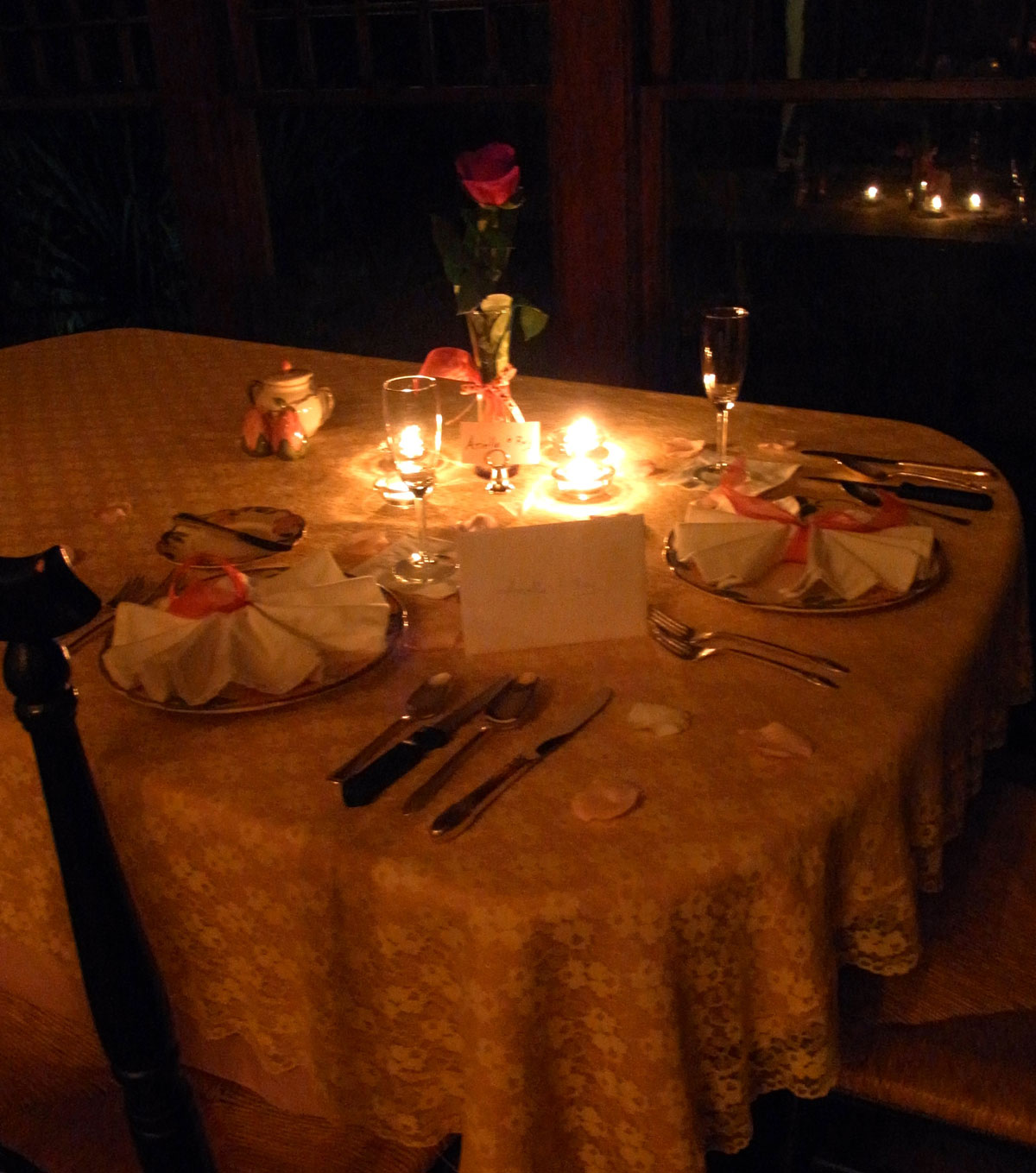 Candle Light Dinner for Two